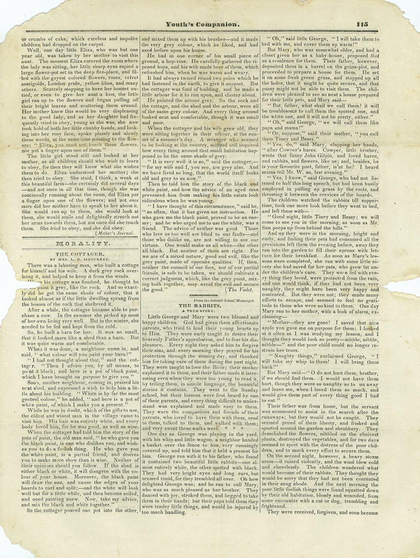 The Youth's Companion - November 30th, 1838 - Vol. 12 - No. 29