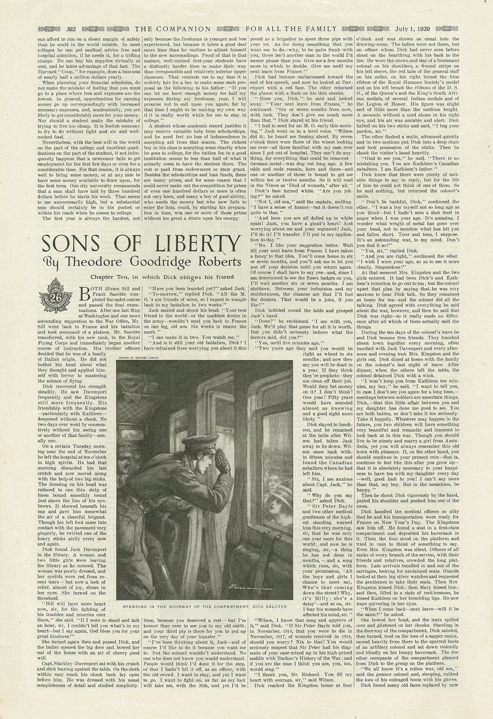 The Youth's Companion - July 1st, 1920 - Vol. 94 - No. 27