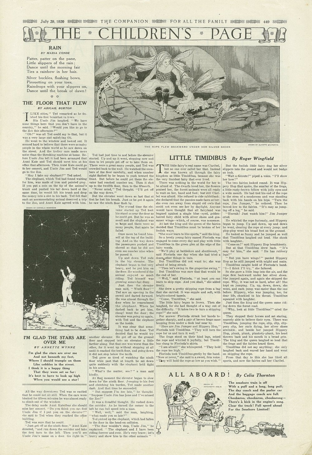 The Youth's Companion - July 29th, 1920 - Vol. 94 - No. 31
