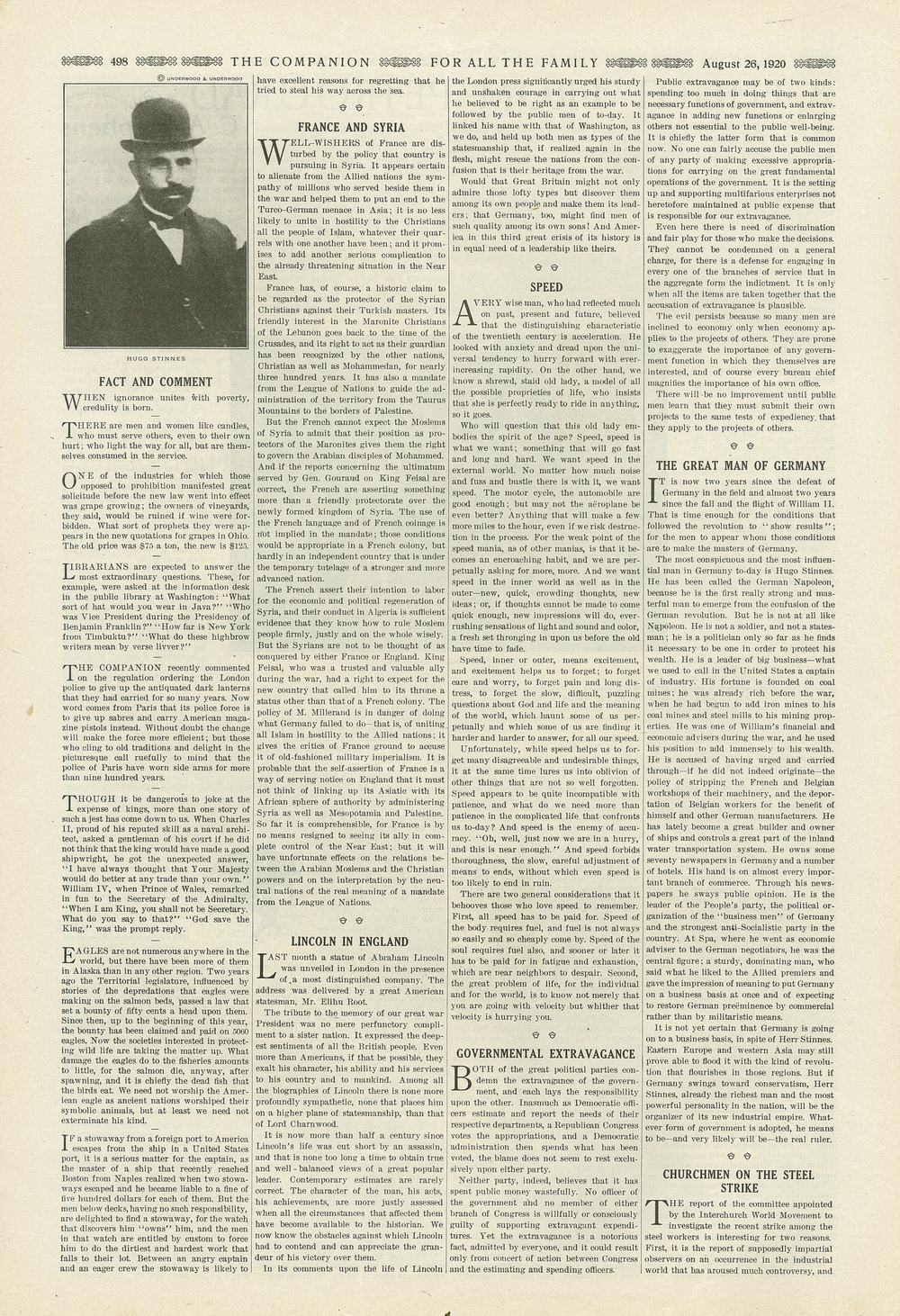 The Youth's Companion - August 26th, 1920 - Vol. 94 - No. 35