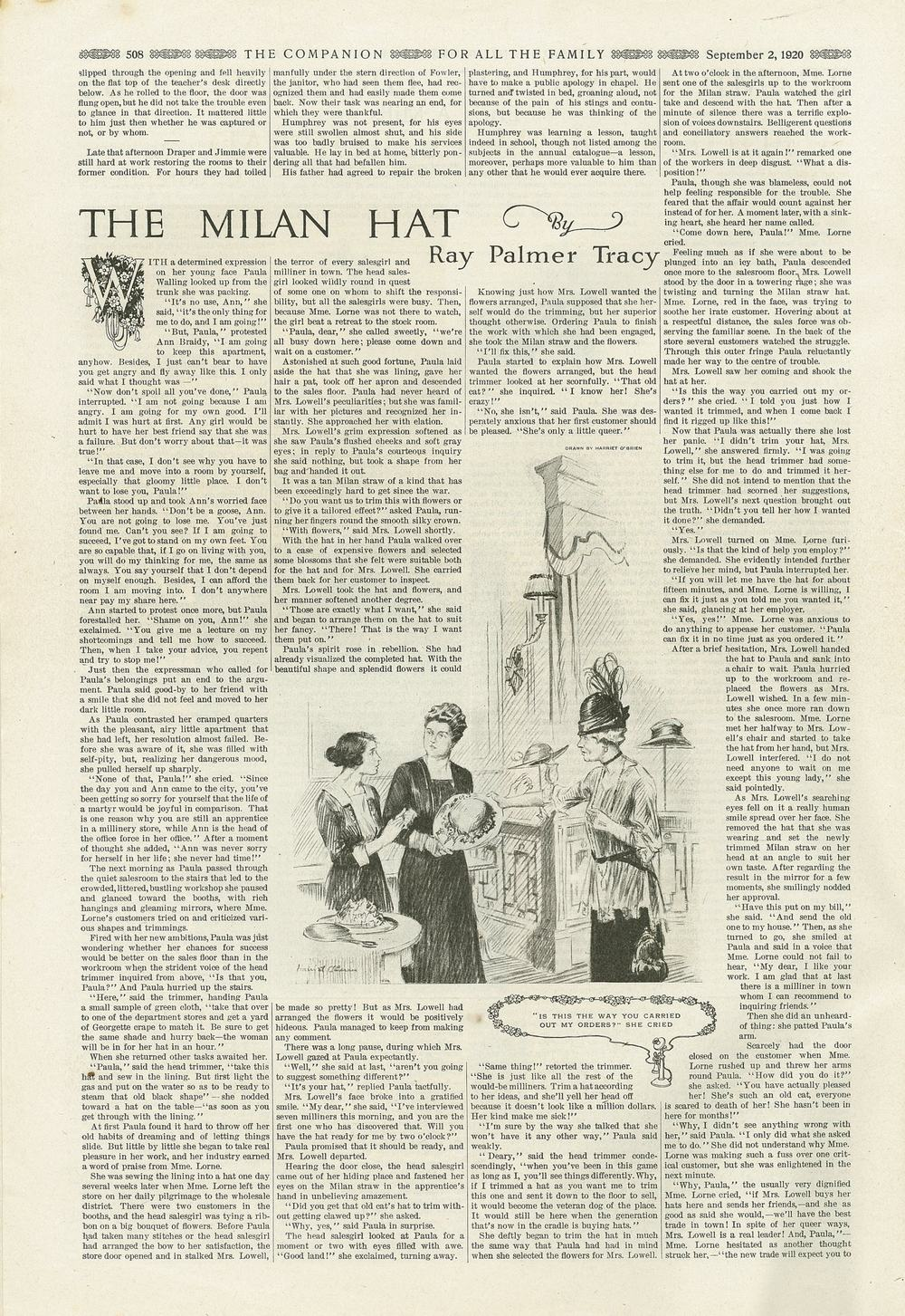 The Youth's Companion - September 2nd, 1920 - Vol. 94 - No. 36