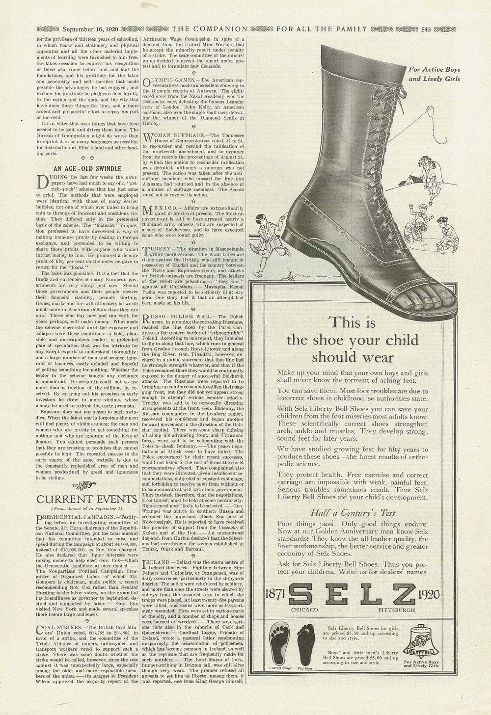 The Youth's Companion - September 16th, 1920 - Vol. 94 - No. 38
