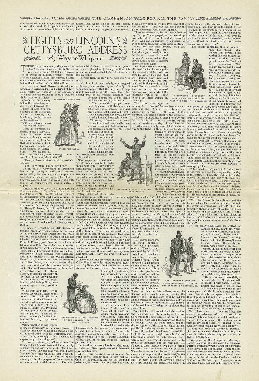 The Youth's Companion - November 19th, 1914, New England Edition, Vol. 88, No. 47