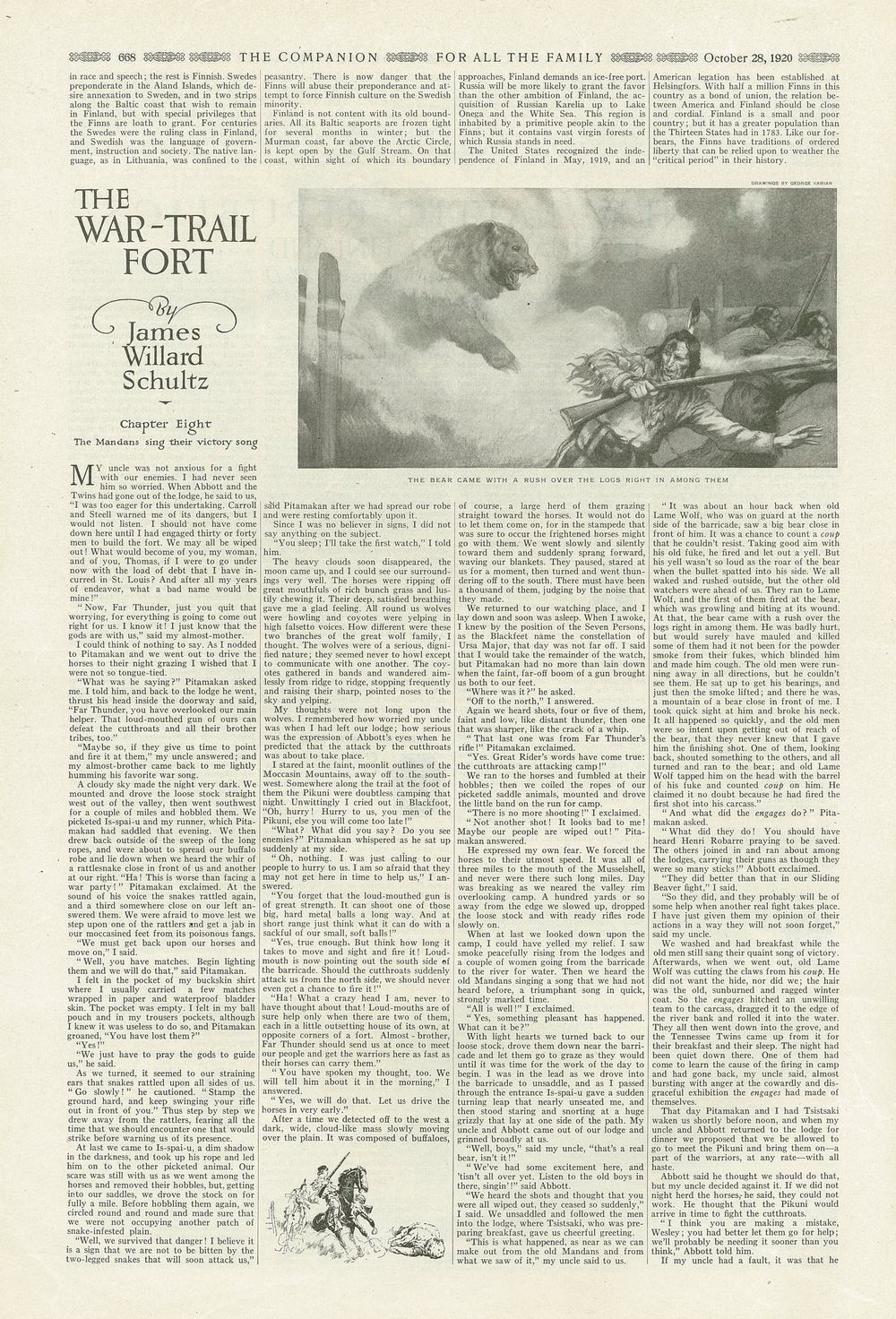 The Youth's Companion - October 28th, 1920 - Vol. 94 - No. 44