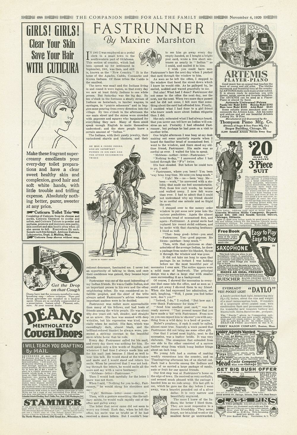 The Youth's Companion - November 4th, 1920 - Vol. 94 - No. 45